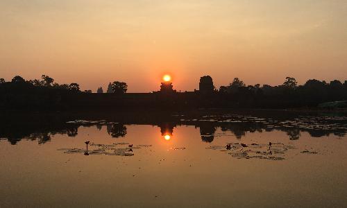 Sunrise & Spiritual Morning, Cambodia