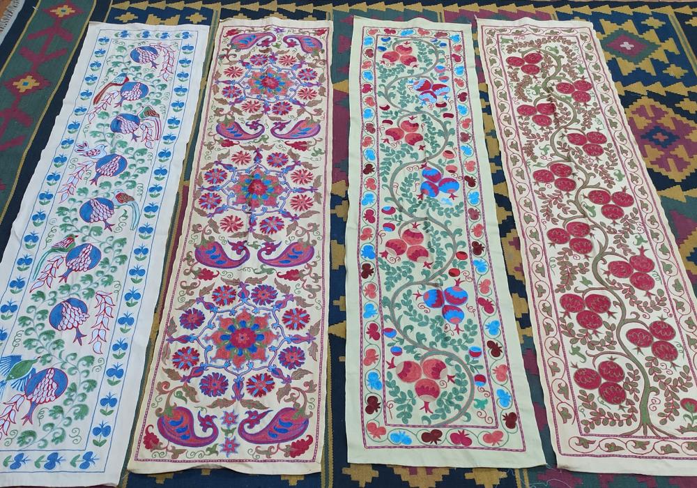 Suzani textiles, Uzbekistan