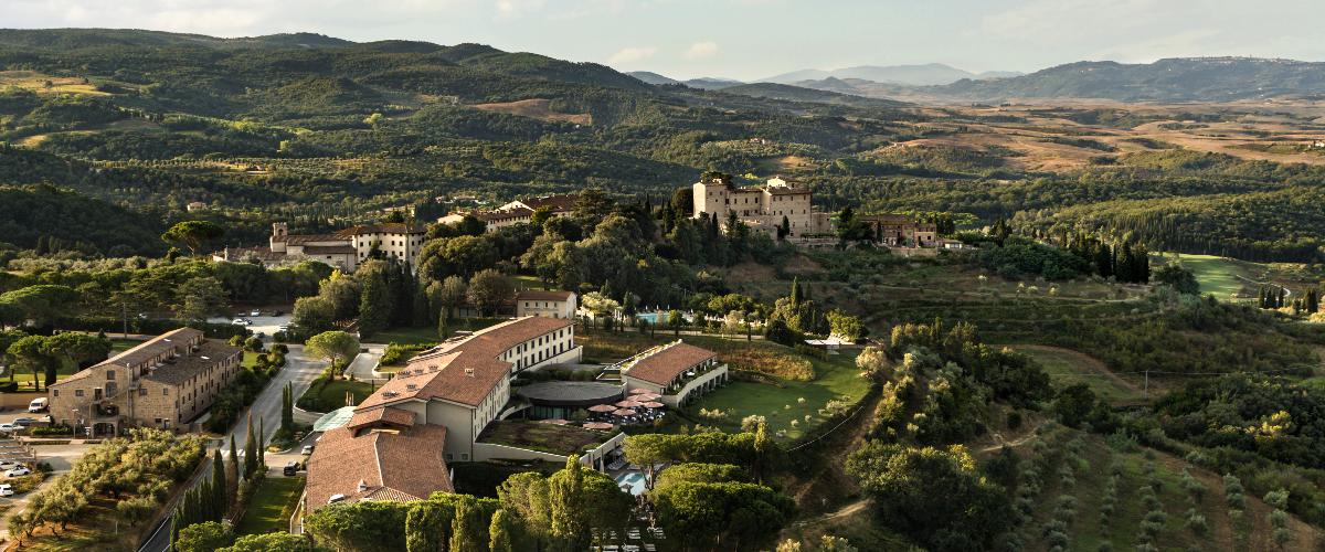 Castelfalfi Italy - hotel
