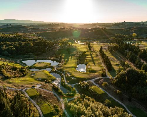 Castelfalfi Golf course italy