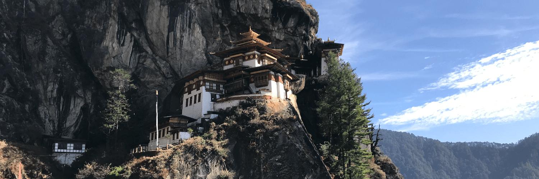 Tigers Nest monastery Bhutan