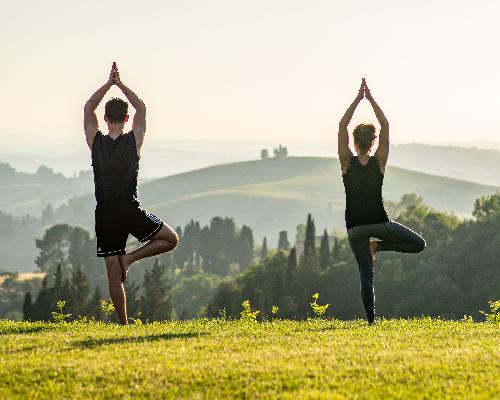 Castelfalfi Italy - yoga