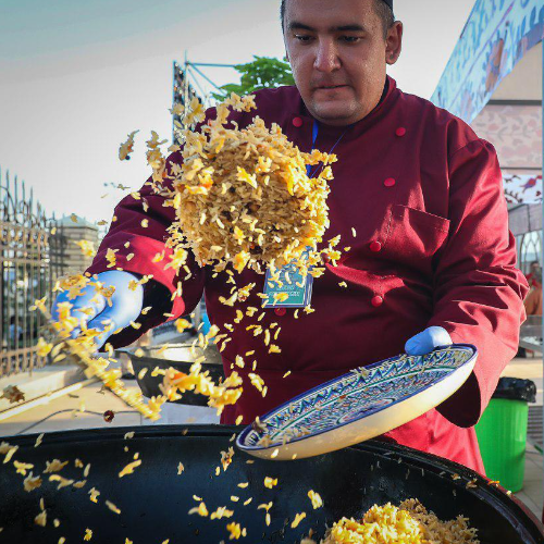 Uzbekistan pilaf