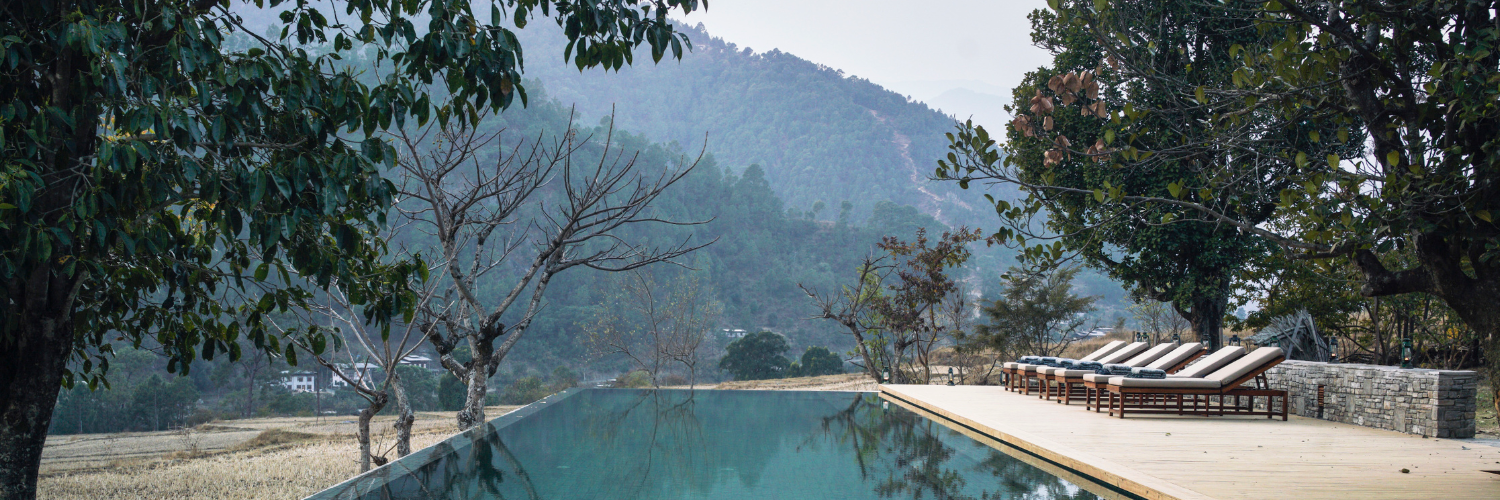 Punakha Lodge, Amankora, Bhutan - pool