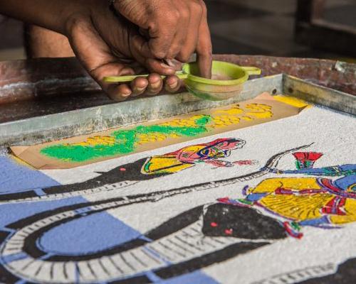India - secret art of painting