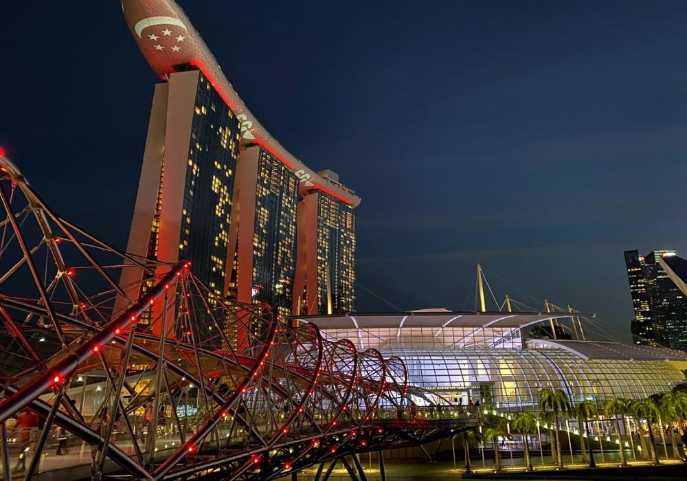 Helix Bridge Singapore