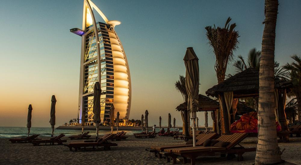 Burj Al Arab, Beach, Dubai, United Arab Emirates