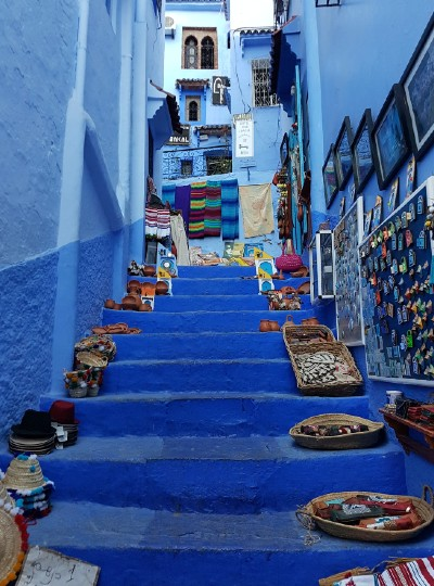 Morocco – 50 Shades of Blue