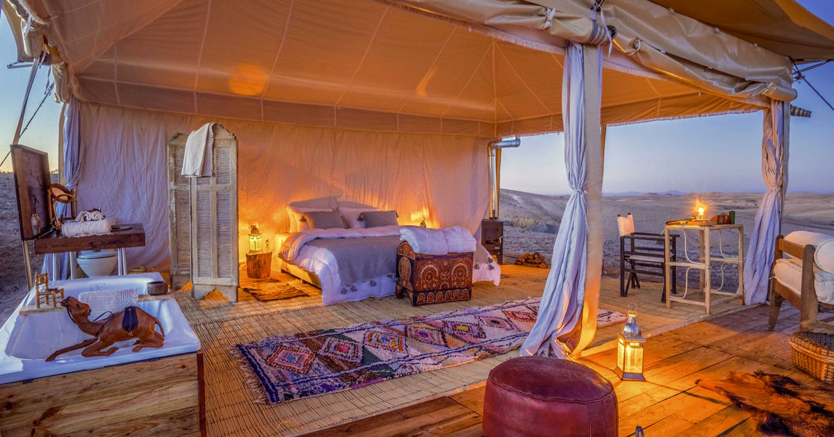 Agafay Luxury Camp, Morocco