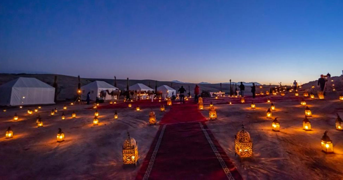 Agafay Desert, Morocco
