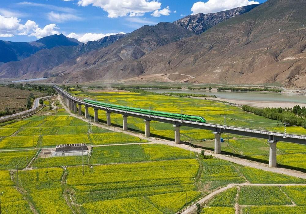Tibet China train