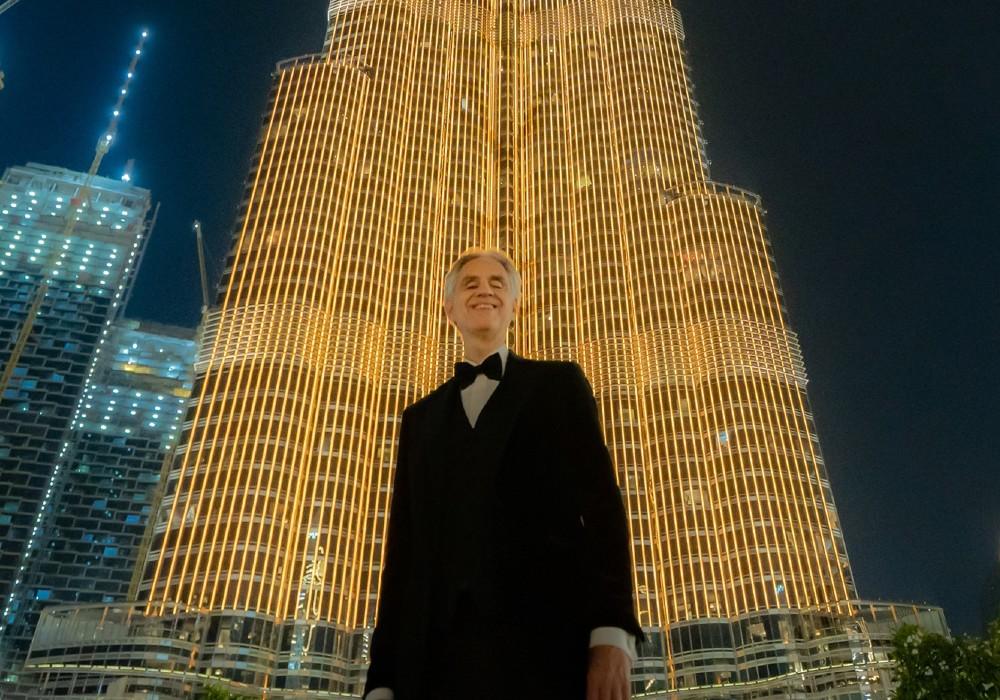 Andrea Bocelli Dubai