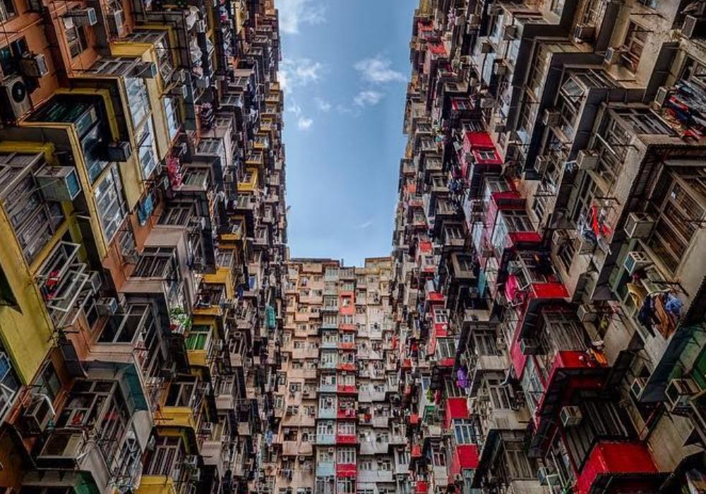 Hong Hong housing estate