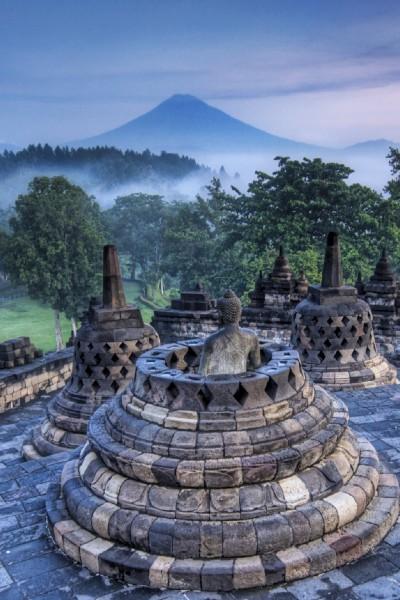 Indonesia – Borobudur at Sunrise