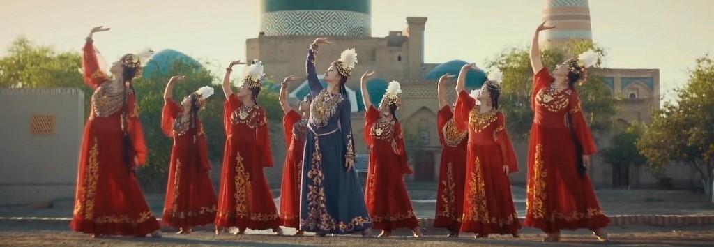 lazgi dance Uzbekistan