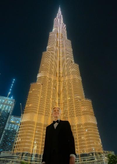 Andrea Bocelli LIVE in Dubai